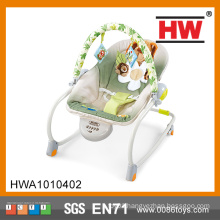 Comfortable music rocking baby soft chair