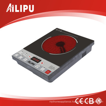 2016 New Design Heater Element Infrared Cooker with Pushbutton Control and Best Price
