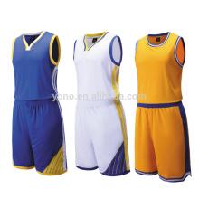 Logotipo impreso aduana del uniforme del baloncesto del baloncesto de la calidad al por mayor de la calidad tailandesa en el jersey