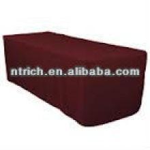 Toalha de mesa árabe chique, toalha de mesa retangular do poliéster