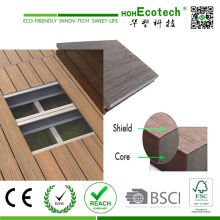 2016 High End Co-Extrusion Solid Wood Plastic Composite Decking USA