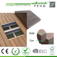 2016 высокого класса Co-Штранг-прессования твердой древесины пластичный составной decking США