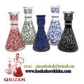 Medium Glaze Glass Vase Hookah Bottle