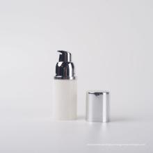 15ml Bomba de garrafa sem ar comprimido branca PP amigável de Eco
