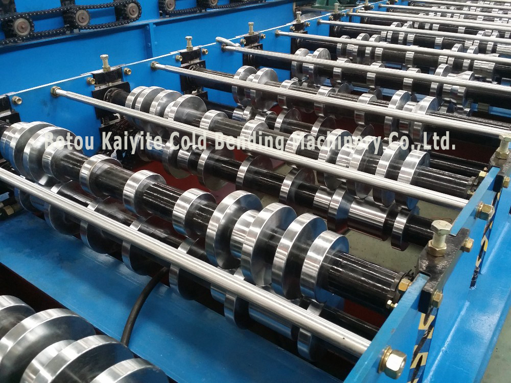 Color Steel Ibr Automatic Roofing Sheet Roll Forming Machine