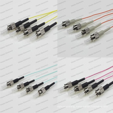 St/Upc Sm/mm/Om1/Om2/Om3/Om4 Sx 0.9 PVC/LSZH Pigtail Optical Fiber Patch Cord
