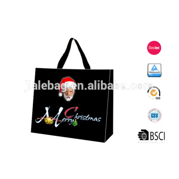 2014 new style custom Christmas gift bag for shop supermarket package