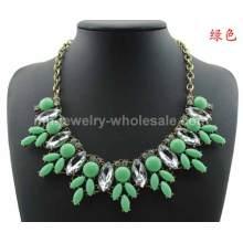 Neue Design schöne transparente Marquise Geschenk Halskette