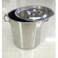 Panela de ebulição comercial de aço inoxidável barata do potenciômetro da sopa da fábrica