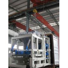 Máquina de fabricação de blocos oco QFT10-15
