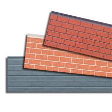 Painéis de parede de tijolo decorativo isolado
