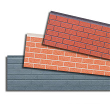 Insulated Pu Foam Sandwich Panel For Prefabricated House