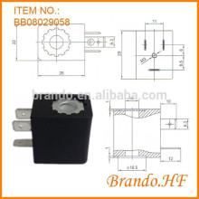 Neumático DIN43650B Tipo de conexión Bobina de la electroválvula