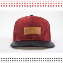 2016 Мода Кожа Дальнобойщик Шляпы Snapback Шляпа
