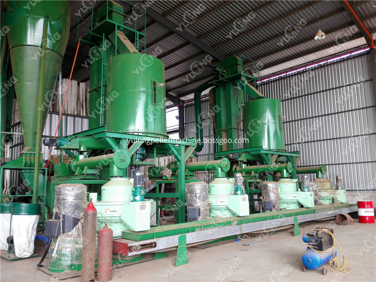 Wood Pellet Extrusion Machine