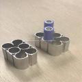 Anodize Aluminum battery tube for E vertical
