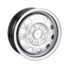 silver steel wheel rims
