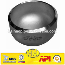 ASME B16.9 end cap for 50mm pipe