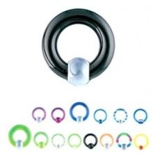 2011uv Acrylic, Captive Bead Rings