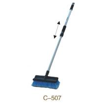Deux brosse télescopique de nettoyage