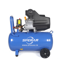 High quality 220V mini mobile portable handheld 3hp 50 litre direct driven air compressor