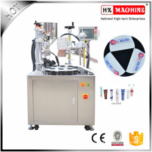 Hand Cream Filling And Sealing Machine, Hand Lotion Filling And Sealing Machine