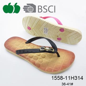 Ladies New Style Soft Flat High Quality Flip Flops Slippers