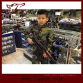Táctica de nosotros ejército militar camuflaje uniforme para los niños Woodland Camo