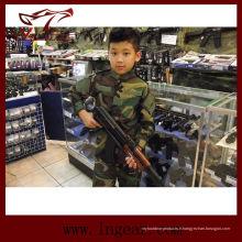 Tactique nous armée militaire Camouflage uniformes pour enfants Woodland Camo