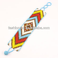 Fashionme glass seed bead bracelet