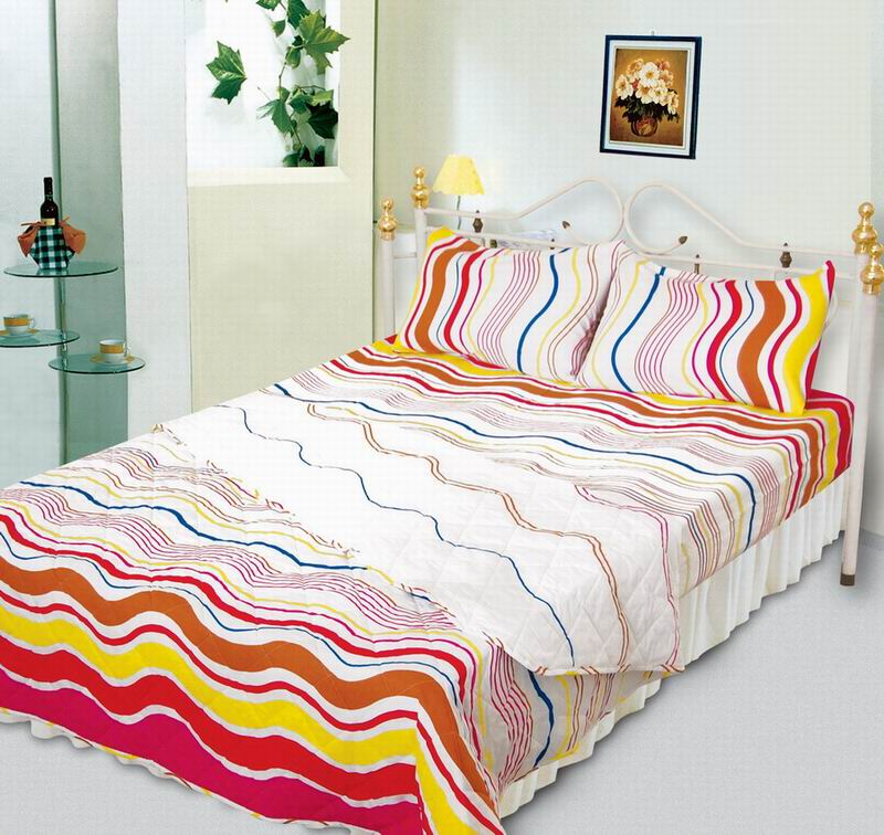 Printed Quilt Cover Set Printed