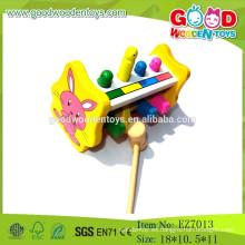 OEM Venta al por mayor de herramientas de madera juguetes de juguetes de libra de niños Pop Up Toy