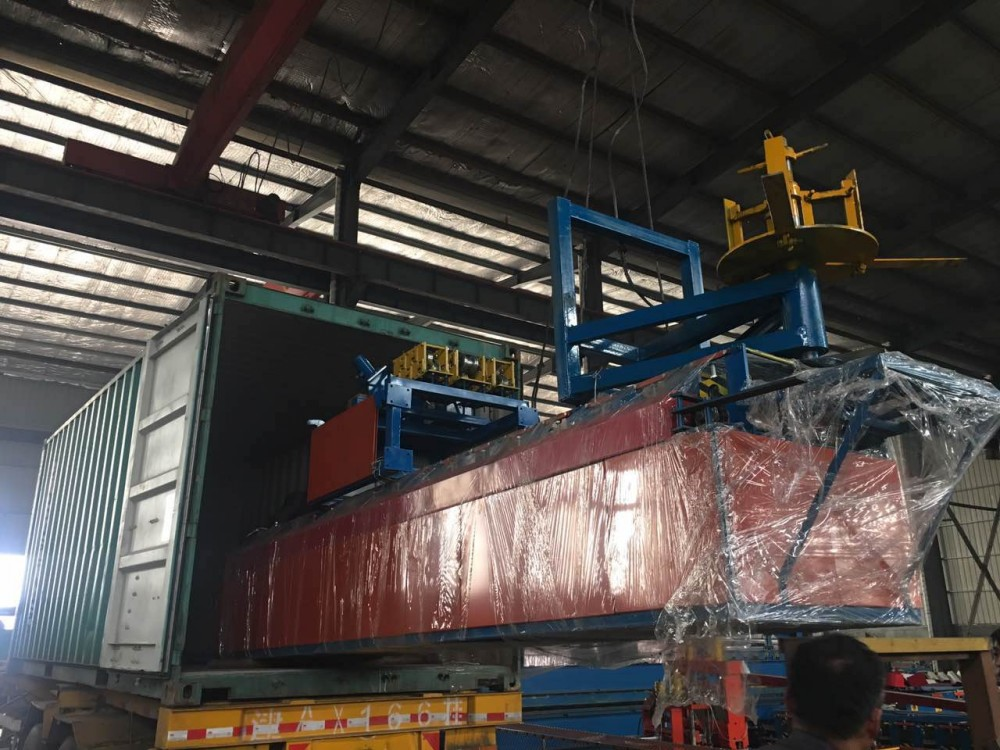 Roll Forming Machine Load