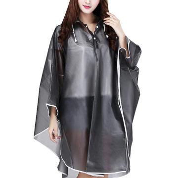 Imperméable poncho de pluie TPU imperméable / coupe-vent adulte