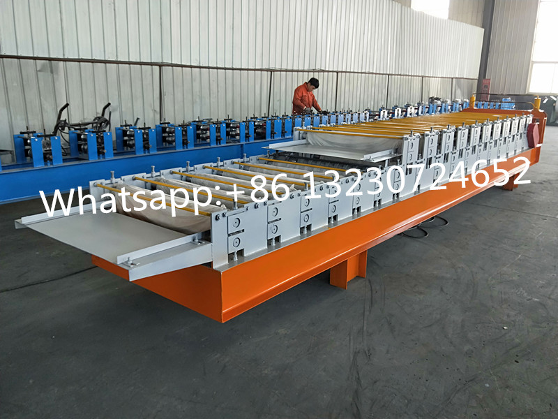steel roof sheet machine