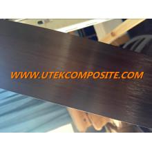 Feuille de fibre de carbone épaisseur 1,4 mm