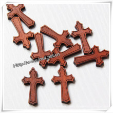 Wooden Wood Cross Easter Communion Church Craft (IO-cw030)