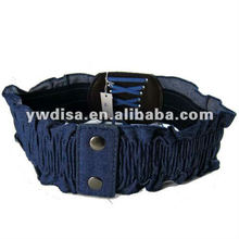 Canvas Elastic Belt For Woman