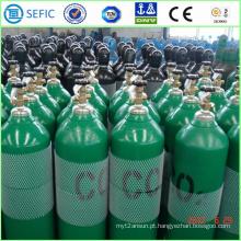 Cilindro de gás sem emenda de alta pressão do CO2 do aço 40L (ISO9809-3)