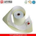 Rolos de papel autocopiativos certificado ISO de 76 mm e 2 ppp para POS