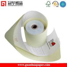 Rolos de papel sem carbono de alta qualidade