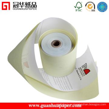 Certificado ISO 76mm 2 Rollos de papel autocopiativo Ply para POS