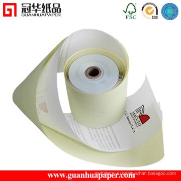 Сертифицированные ISO 76 мм 2-слойные бумажные рулонные рулоны для POS