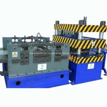 Rollo de bandeja de cable de acero galvanizado que forma la máquina
