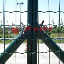 Grön PVC Euro Fence of Welded Wire