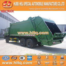 DONGFENG 6x4 16/20 m3 back-loading Squeeze Müllsammler Dieselmotor 210hp mit Pressmechanismus
