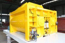 JS1000 double axle concrete mixer
