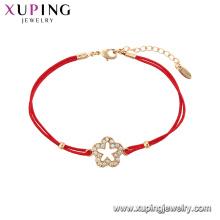75532 xuping новый дизайн красный веревка браслет 2018 для женщин