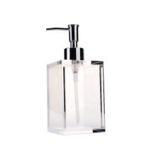 Pompe à savon en acrylique transparent
