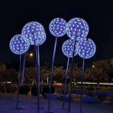 Lampe à fleurs à fibre optique à vendre
